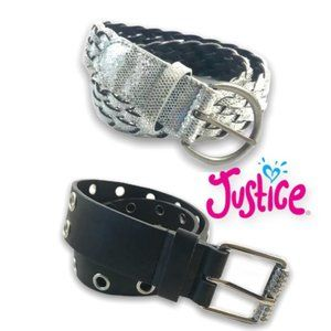 ⤵️ (2) Justice small belts